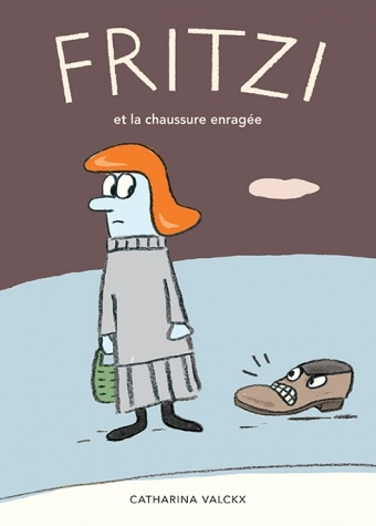 cover: Fritzi and the raging shoe
